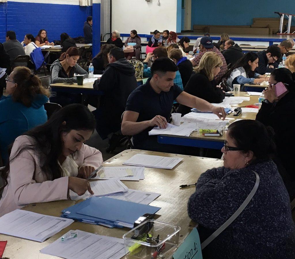 Participants of the citizenship workshops